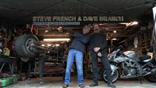Steve French and Dave Branch