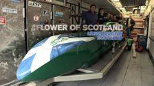 Flower of Scotland team