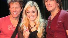 Bon Jovi in the Live Lounge - 3 Nov 2009 - 11