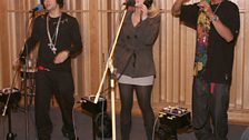 N Dubz in the Live Lounge - 12 Nov 09 - 1