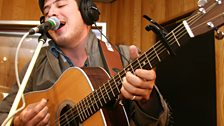 Mumford & Sons in the Live Lounge 01 Mar 10 - 1
