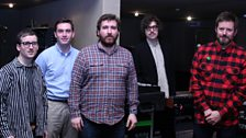 Hot Chip in the Live Lounge - 10 April 10 - 1