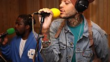 Travie McCoy in the Live Lounge - 27 July 2010 - 1