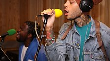 Travie McCoy in the Live Lounge - 27 July 2010 - 9