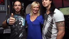 Bullet For My Valentine with Jo Whiley