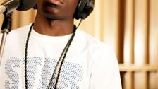 Tinchy Stryder in the Live Lounge - 11 Aug 10 - 1