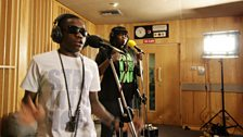Tinchy Stryder in the Live Lounge - 11 Aug 10 - 2