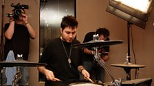 Tinchy Stryder in the Live Lounge - 11 Aug 10 - 6