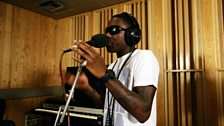 Tinchy Stryder in the Live Lounge - 11 Aug 10 - 7