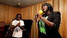 Tinchy Stryder in the Live Lounge - 11 Aug 10 - 9