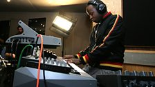 Tinchy Stryder in the Live Lounge - 11 Aug 10 - 10
