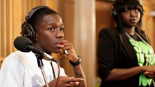 Tinchy Stryder in the Live Lounge - 11 Aug 10 - 12