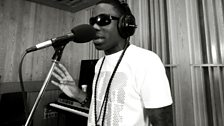 Tinchy Stryder in the Live Lounge - 11 Aug 10 - 13