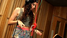 Eliza Doolittle in the Live Lounge - 15 Oct 10 - 4