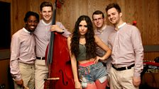 Eliza Doolittle in the Live Lounge - 15 Oct 10 - 8