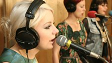 Little Boots in the Live Lounge - 19th August - 5
