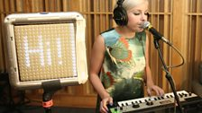 Little Boots in the Live Lounge - 19th August - 6