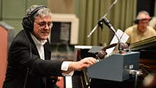 Colin Good in session with Bryan Ferry's Jazz Orchestra.