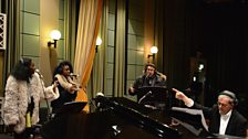 Bryan Ferry's Jazz Orchestra In Session at BBC Maida Vale.