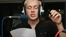 Mr Hudson in the Live Lounge Oct 09 - 6