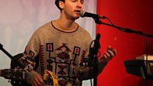 Klaxons in the Live Lounge - 21 October 2010 - 4