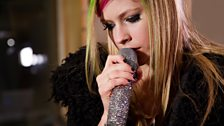 Avril Lavigne in the Live Lounge - 8 March 2011 - 1