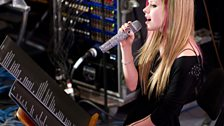 Avril Lavigne in the Live Lounge - 8 March 2011 - 2