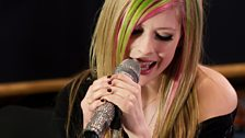 Avril Lavigne in the Live Lounge - 8 March 2011 - 4
