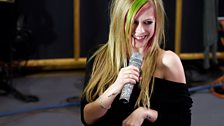 Avril Lavigne in the Live Lounge - 8 March 2011 - 6