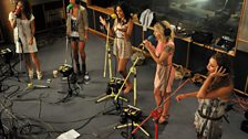 21 June 2011 - The Saturdays in the Live Lounge - 1