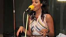 21 June 2011 - The Saturdays in the Live Lounge - 6