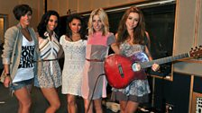 21 June 2011 - The Saturdays in the Live Lounge - 8