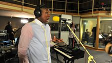 20 Oct 11 - Labrinth in the Live Lounge - 5