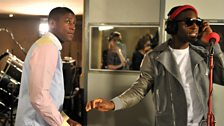 20 Oct 11 - Labrinth in the Live Lounge - 6
