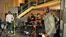 20 Oct 11 - Labrinth in the Live Lounge - 11