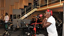 20 Oct 11 - Labrinth in the Live Lounge - 13