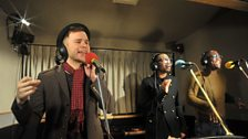 22 Nov 11 - Olly Murs in the Live Lounge - 4