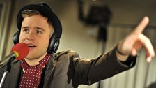 22 Nov 11 - Olly Murs in the Live Lounge - 5