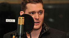 08 Dec 11 - Michael Buble in the Live Lounge - 3
