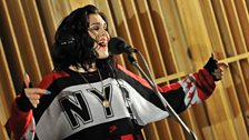 17 Feb 12 - Jessie J in the Live Lounge - 3