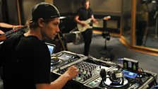 27 Sept 11 - Professor Green in the Live Lounge - 2