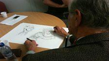 Dave Sutherland at work