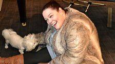 Lisa Riley and Goliath
