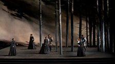"""A scene from Donizetti's """"Maria Stuarda."""""""