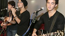 Jonas Brothers in the Live Lounge - 15 Jun 2009 - 10