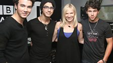 Jonas Brothers in the Live Lounge - 15 Jun 2009 - 11
