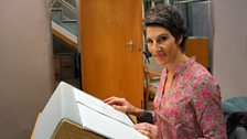 Tamsin Greig records her narration