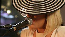 Lady Ga Ga in the Live Lounge 20 Apr 09 - 1