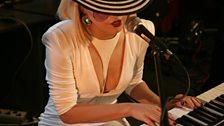 Lady Ga Ga in the Live Lounge 20 Apr 09 - 4