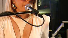 Lady Ga Ga in the Live Lounge 20 Apr 09 - 5
